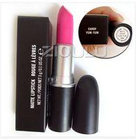 Wholesale Professional Names - AAA Quality Matte Lipstick Rebel Honey love Angel Beauty Waterproof Makeup Lip Gloss with English name ,Professional Matte Lip