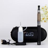 Wholesale Ego Wick Kit - ego kit ce5 atomizer ego ce5 kits 650mah 900mah 1100mah Battery Electronic Cigarette e cigarette vaporizers no wick CE5 Atomizers usb charge