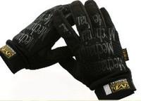 Wholesale Mechanix S - Wholesale-Mechanix Style Tactical M-Pact Gloves Black GL-09-BK
