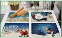 ingrosso tessuto di stampa alimentare-Stoffa per stoffa di cotone da stoffa per stoffa di Babbo Natale