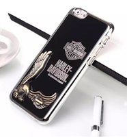 Wholesale Eagles Iphone - Cool 3D Metal Aluminum Chrome Embossed Eagle Egyptian Vulture phone Case Cover For iphone4S 5S iphone6 6S 6plus Samsung galaxy S5 S6 S6 LG