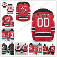 Wholesale Custom Hockey Jerseys Cheap - Stitched Custom New Jersey Devils mens womens youth OLD BRAND Customized White Red Green black Personalized ice Hockey cheap Jerseys S-4XL
