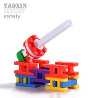 block cost - Low cost sales pp material the ladder shape and varied color joint building blocks toys above year old babay g