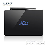 X92 smart android tv box Amlogic S912 Octa Core 2GB / 3GB 16GB IPTV Box BT4.0 KD17.4 1000M 4K Streaming Media Player