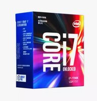 Originale per processore Intel Core i7 7700K 4.20GHz / 8MB Cache / Quad Core / Socket LGA 1151 / Quad Core / Desktop I7-7700K CPU