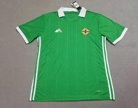 Soccer Men Short Top thailand quality Northern Ireland soccer jerseys 2018  home green Tuaisceart Eireann McNAIR 2e47c38a5
