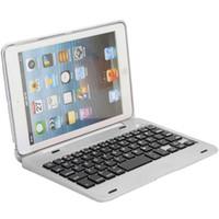 Wholesale Ipad Mini Keyboard Case Cover - Wholesale-Superior Foldable Wireless Bluetooth Rechargeable Keyboard Case Cover For iPad Mini 1 2 3 Oct21
