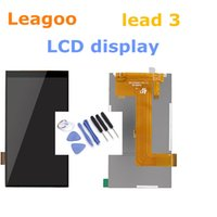 Discount android led lcd - Wholesale-Leagoo Lead 3 lcd LCD Display Screen 100% Original Assembly Replacement For 960x540 4.5 inch Android 4.4 phone