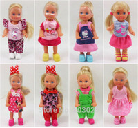 Wholesale Evi Dolls - Free Shipping 2015 New Arrivals 5 or7 Joints Boneca Simba Evi Dolls, Little Dolls Toys for Girls,Mini Dolls with Clothes