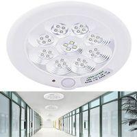 Wholesale Sensor Lighting Bedroom - new Elegant 36LED 7W Motion Sensor Bulb Ceiling Lamp Pendant Lighting White Light Pendant Lamps 220V
