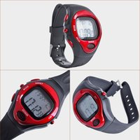 Wholesale Digital Monitor Calories - 2015 Hot saling 6 in 1 Digital Sports Watches Heart Pulse Rate Monitor Calorie countor led fitness man woman male clcok wristwatch