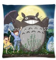 case animations - Famous Animation My Neighbor Totoro Bed Setting X45 cm Throw Pillow Cases
