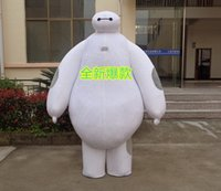 Wholesale Mascot Costumes Robot - free shipping inflatable big hero 6 baymax robot mascot costume for adults