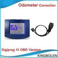 Wholesale Jeep China - 2017 Newly Version V4.94 Digiprog III odometer correction tool with Multi-language Digiprog 3 by DHL China Post Free Shipping to everywhere