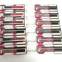 Wholesale Beauty Box Makeup Case - Lipgloss Cosmetics Huda Beauty lip kit lipgloss + lipliner PVC Case Brand New in box lipgloss makeup DHL shipping