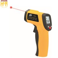 Wholesale Measurement Range - 43*101*153Mm Infrared Radiation Thermometer for chemical industry New Thermoprobe Hand Hold Measurement Range Laser Thermometer Lightweight