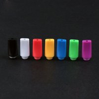 Wholesale Sell For Candy - Hot Selling Candy 510 Plastic Drip Tips Flat Style Drip Tip ego vaporizer tips mouthpieces for atomizer ce4 best rda rba E Cigarettes mod