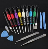 Wholesale Repair Tool Kit Screwdrivers For iPhone samsung sony htc Pry Tools in Kit with box
