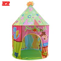 All'ingrosso-Kids Portable Large Play Tent Indoor Outdoor Gioco Teepee Bambini Sun Roof Animal Toy Playhouse Monkey Giraffe Bear Elephant D50