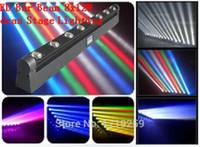 nachtclub bewegte scheinwerfer großhandel-LED Balken RGBW 8x12W Moving Head Light Perfekt für mobile DJs, Partys, Nachtclubs