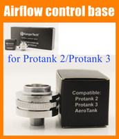 Wholesale Aero Base - Aerotank Airflow control valve bottom Base Compatible for Protank 2 Protank 3 aero tank Air Flow e cigarette protank atomizer FJ050