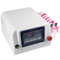 máquina de láser para quemar grasa al por mayor-Uso en el hogar 160mw máquina láser lipo para la venta Máquina de quema de grasa de eliminación de grasa 635-650nm con 10 almohadillas