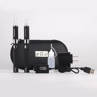 elektronik sigarayı çift evod kitleri toptan satış-Evod çift başlangıç kiti elektronik sigara MT3 atomizer clearomizer için 650 mah 900 mah 1100 mah pil e sigara Ücretsiz DHL gemi