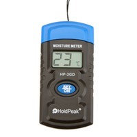 """Wholesale Concrete Moisture - HoldPeak HP-2GD 3"""" 3-in-1 Mini LCD Temperature Humidity Meter Tester Analyzers Concrete Wood Building Material Moisture Meter E0085"""