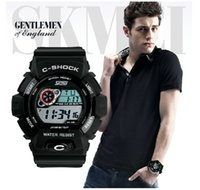 Wholesale Designer Watches Led - 2016 New Brand New Jelly Designer Military Silicone LED Digital g ift Men sports shock resistant wrist hiking Watch drop shipping