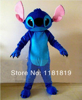 Wholesale Lilo Stitch Mascot - Lilo & Stitch mascot costume custom wholesale cartoon character fancy costume anime cosplay kits mascotte fancy dress