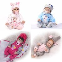 ingrosso belle bambole rosa-22 pollici ragazzo bambola corpo fatto a mano silicone reborn bambino morbido neonato bagno giocattolo reborn baby doll regalo bambola regalo di natale