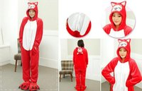 Wholesale Cheap Animal Anime Costumes - 2016 New Cheap Hot Sale Lovely Kigurumi Pajamas Anime Costumes Cosplay Adult Unisex Onesie Dress Sleepwear Halloween
