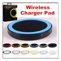 Wholesale Galaxy S3 Wireless Charging - S6 Qi Wireless Charger Cell phone X100 Mini Charge Pad For Qi-abled device Samsung Galaxy S3 S4 S5 S6 Note2 3 4 Nokia HTC LG Iphone phone