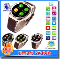 Wholesale Wrist Mp4 Player - Apple Smart Watch T3 Smartwatch for android phone Mp3 Mp4 Player Camera UV Detection smart watches for android phones