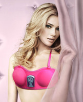 Wholesale Vibrating Breast Enhancer - Big Promotion! Pink Women Breast Enhancer Vibrating Massager Bra Beauty Breast Enlarger Growth