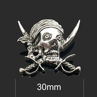 Wholesale pirate jewelry for women resale online - High quality w318 Pirate mm mm rhinestone metal snap button for Bracelet Necklace Jewelry For Women Fashion accessorie