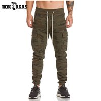 Wholesale Gasp Pants - Wholesale- 2017 asrv gyms pants bodybuilding clothing Men's gasp workout casual camouflage sweatpants joggers pants skinny trousers