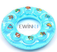 Wholesale Inflatable Baby Ring Seat - New Baby Kids Inflatable Pool Swim Ring Seat Float Boat Swimming 4-7 Years Old Good Quality 120pcs