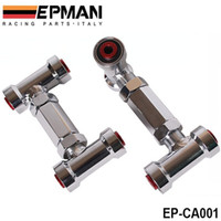 Wholesale EPMAN ADJUSTABLE FRONT UPPER CONTROL ARM CAMBER KIT ARMS ADJUSTABLE Red FOR NISSAN Z32 R32 EP CA001 TK CA001