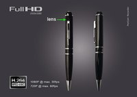 Wholesale H 264 Pen - 8GB Worlds BEST Spy Video Pen Full HD 1080P Mini Spy Pen Camera H.264 Motion Detetction HDMI Port