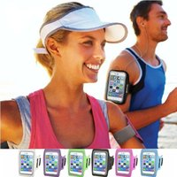 Outdoor Sports Reisen Jogging Armband Ledertasche für iPhone 6 Plus 5.5inch Workout Wasserdichte Handytasche Abdeckung Pounch Gürtel