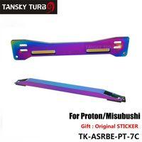 unterrahmen krawatte großhandel-Tansky - Aluminium Neochrome Hinterradaufhängung Hilfsrahmenstrebe + untere Spurstange Für Mitsubishi Proton Wira Evo1-3 TK-ASRBE-PT-7C