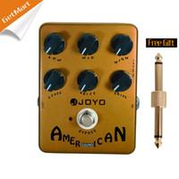 amerikanisches deluxe großhandel-Joyo JF-14 American Sound-Effektpedal mit Fender Deluxe Amp Simulator und einzigartigem Sprachsteuerungspedal