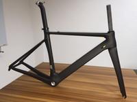 Wholesale Carbon Fiber Road Handlebars - Team sky carbon handlebar + Team sky road bicycle carbon frame Full carbon fiber road bike frame