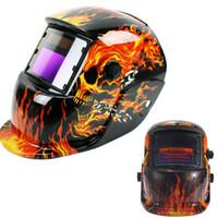auto capacete de soldagem a arco venda por atacado-Pro Solar Auto Escurecimento Capacete De Soldagem Arc Tig Mig Certificação Moagem Máscara