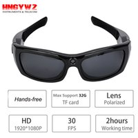 Wholesale Support Hands Free Camcorder - HD 1080P camera glasses DV sunglasses Camera Bluetooth MP3 Sunglasses Driving recorder camcorders glasses support hands-free