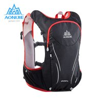 All'ingrosso-AONIJIE 5L Donna Uomo Maratona Hydration Vest Pack per 1.5L Water Bag Ciclismo Escursionismo Borsa Sport Outdoor Running Backpack