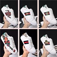 schnüren sich oben keilschuhe frauen großhandel-2017 neue Berühmte Luxusmarken Liebhaber Lace-up Sport Laufschuhe Mit Top Qualität Echtes Leder Männer Frauen Casual Sneakers