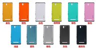 Slim Body Armor Hard Case Retour Housse pour Sony Xperia C3 S55T 20pcs / lots