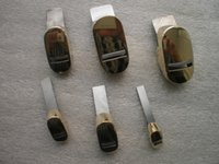 1 PC Cello peg Shaver + 1 PC Cello Peg reamer + 6 piezas de latón Mini Copper Finger luthier herramientas